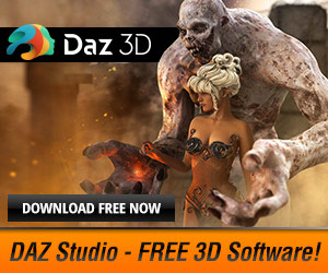 DAZ Studio FREE 3D SOFTWARE